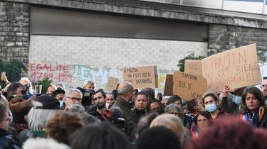 Une nouvelle mobilisation est prévue ce mercredi 6 octobre à 18h, devant le «mur de la honte».