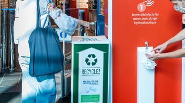 Dix points de recyclage ont déjà été installés.